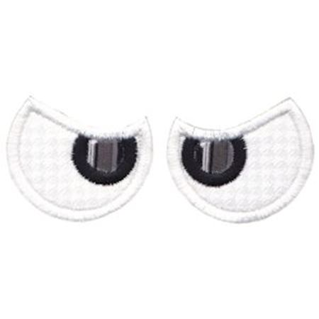 Halloween Eyes Applique 3