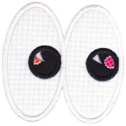 Halloween Eyes Applique 9