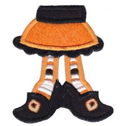 Applique Witches Feet