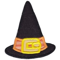 Applique Buckle Witches Hat