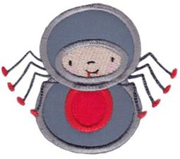 Halloween Wobbles Applique 6