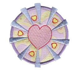 Hearts And Circles Applique 1