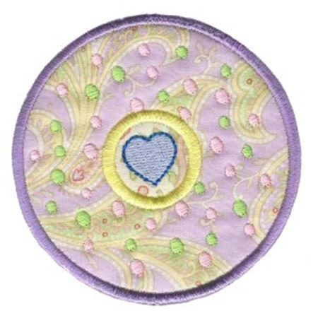Hearts And Circles Applique 11