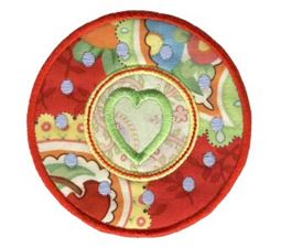 Hearts And Circles Applique 12