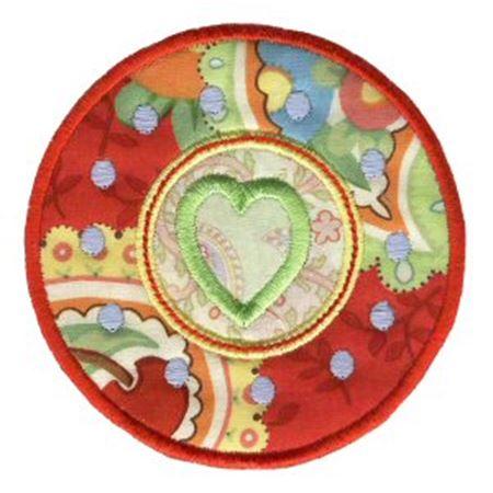 Hearts And Circles Applique 12