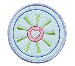 Hearts And Circles Applique 15
