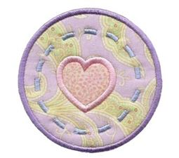 Hearts And Circles Applique 2