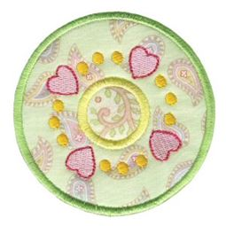 Hearts And Circles Applique 4