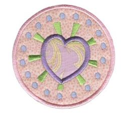 Hearts And Circles Applique 5