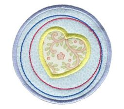Hearts And Circles Applique 6