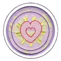 Hearts And Circles Applique 8
