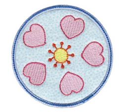 Hearts And Circles Applique 9