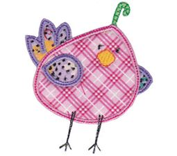 Here Birdy Applique 11