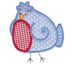 Here Birdy Applique 2