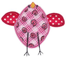 Here Birdy Applique 9