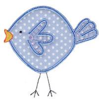 Here Birdy Applique
