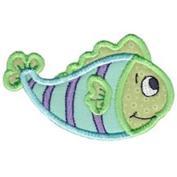 Here Fishy Applique 2