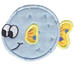 Here Fishy Applique 6