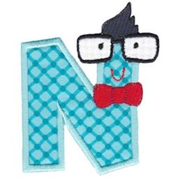 Hipster Boys Alpha Applique N