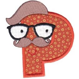 Hipster Boys Alpha Applique P