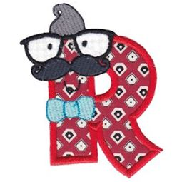 Hipster Boys Alpha Applique R