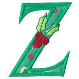 Holly Alpha Applique Capital Z