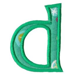 Holly Alpha Lower Case d