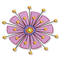 Indienne Swirls 5x7 8