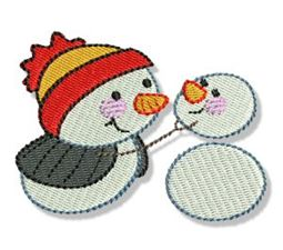 Itty Bitty Snowmen 11