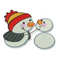 Itty Bitty Snowmen