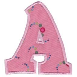 Kids Alpha Applique A