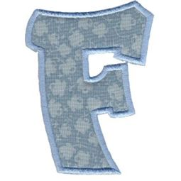 Kids Alpha Applique F