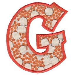 Kids Alpha Applique G
