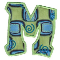 Kids Alpha Applique M