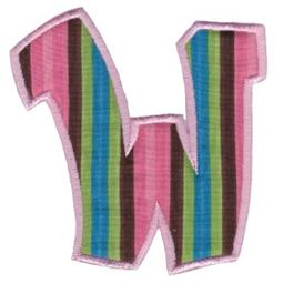 Kids Alpha Applique W