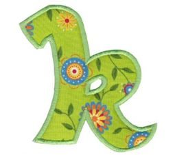 Kids Alpha Applique k