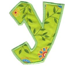 Kids Alpha Applique y