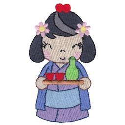 Kokeshi Dolls 3