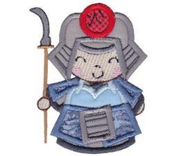 Kokeshi Dolls Boys Applique 3