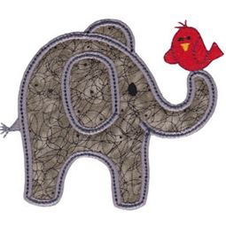 Little Elephant Applique 1