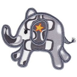 Little Elephant Applique 10