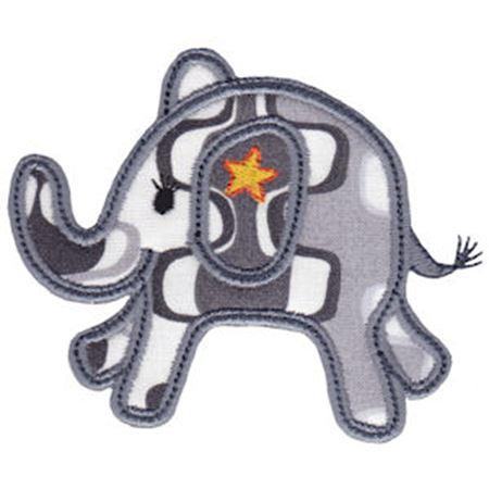 Little Elephant Applique 10