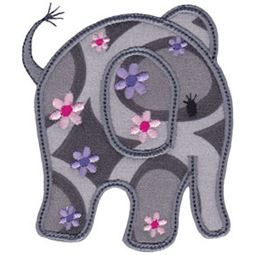 Little Elephant Applique 11
