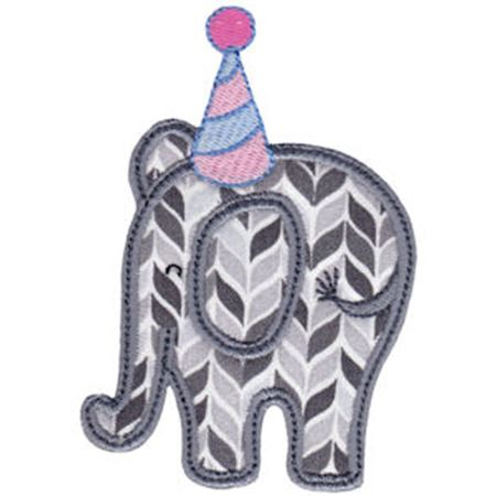 Little Elephant Applique 12