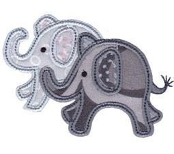 Little Elephant Applique 17