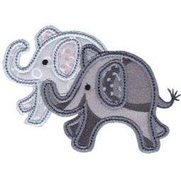 Little Elephant Applique 17