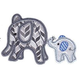 Little Elephant Applique 18
