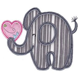 Little Elephant Applique 19