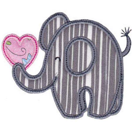 Little Elephant Applique 19