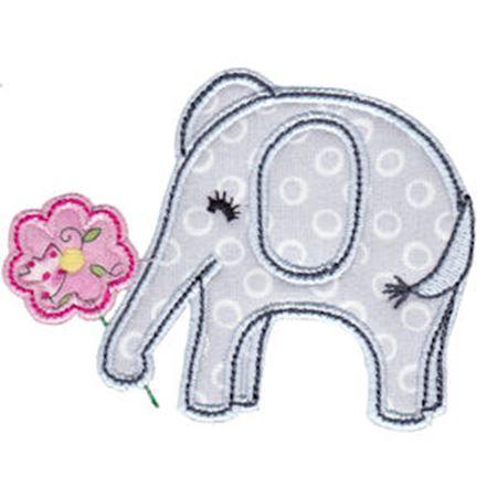 Little Elephant Applique 2